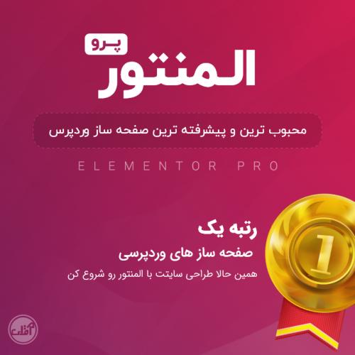 افزونه صفحه ساز المنتور پرو | Elementor Pro | آقای برنامه نویس